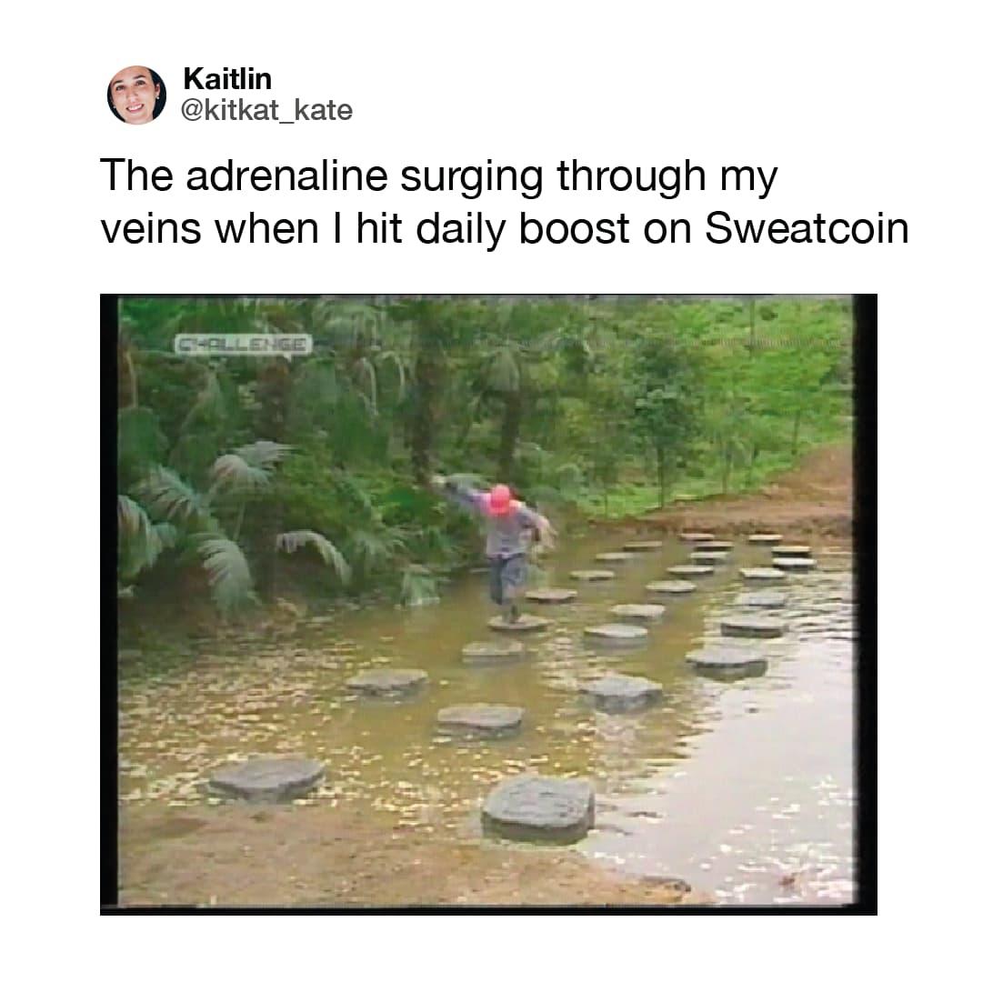 Sweatcoin Meme 04
