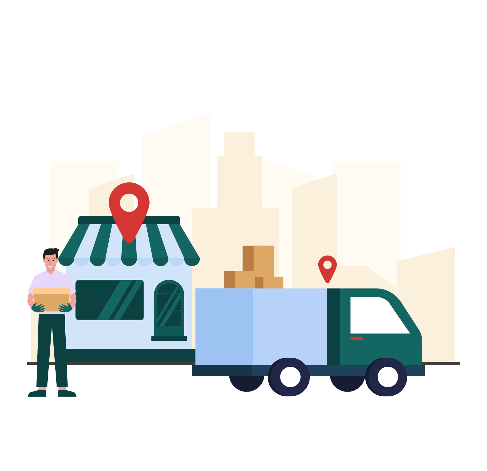 In Store Pickup Local Delivery App image