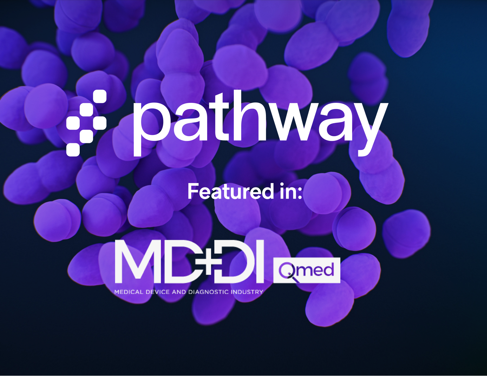 Pathway featured in MD+DI