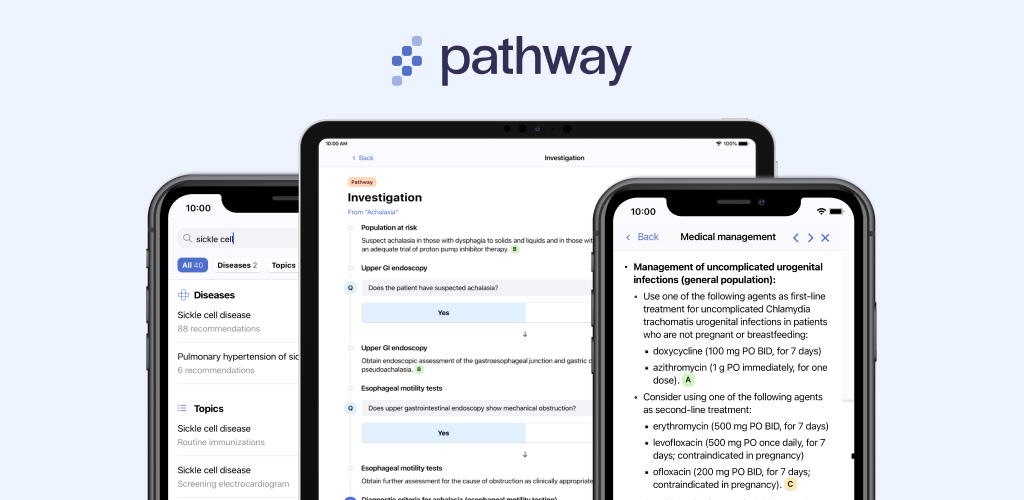Pathway Platform on Mobile and Tablet
