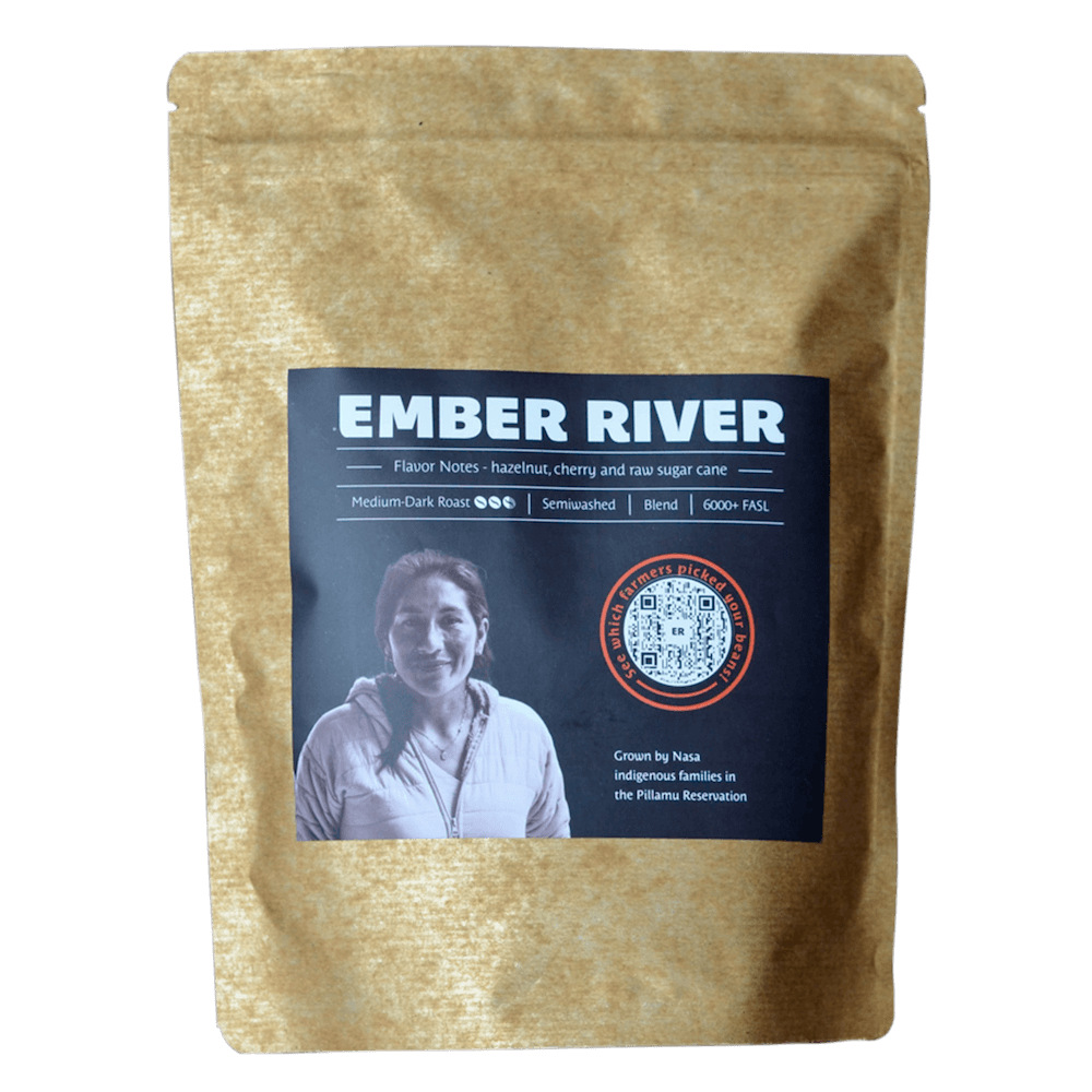 Ember River Native Root Craft Coffee Signature blend