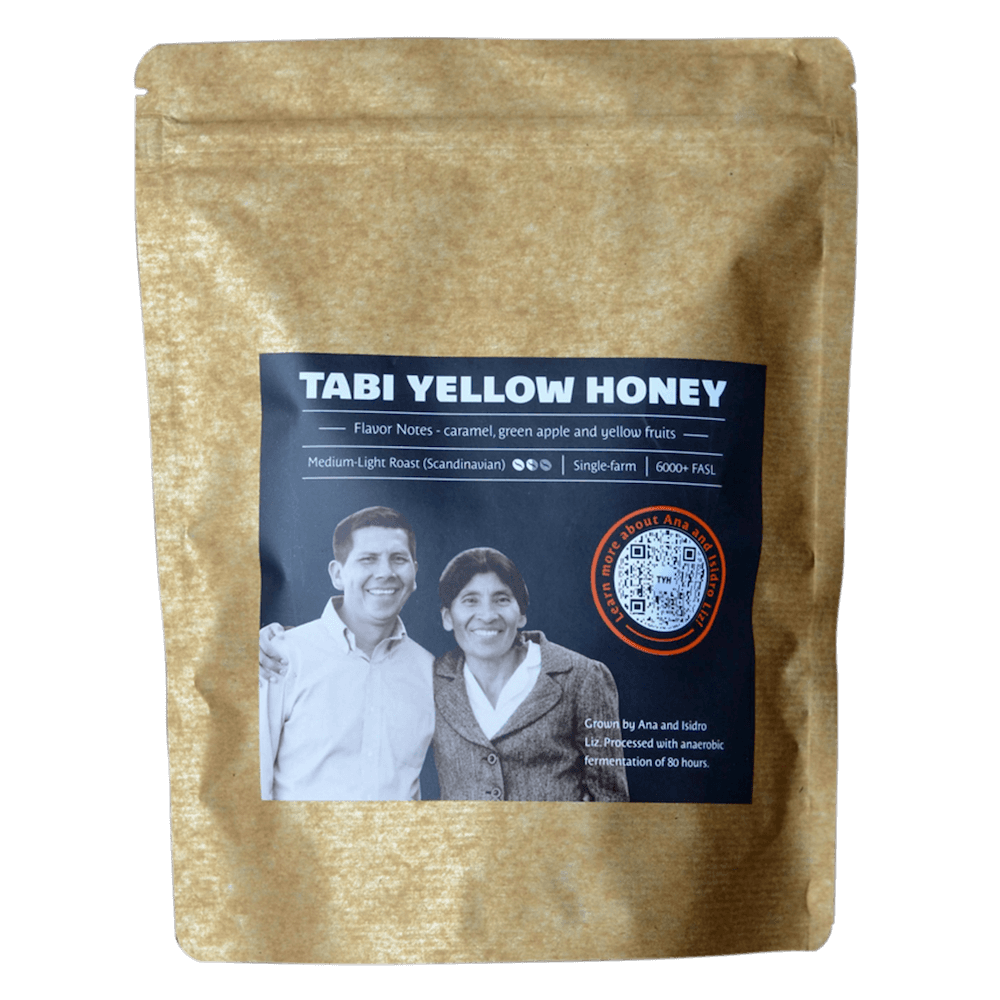 Tabi Yellow Honey craft coffee Native Root limited edition