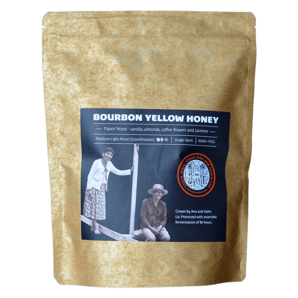 Bourbon Yellow Honey limited edition craft coffee Native Root Coffee