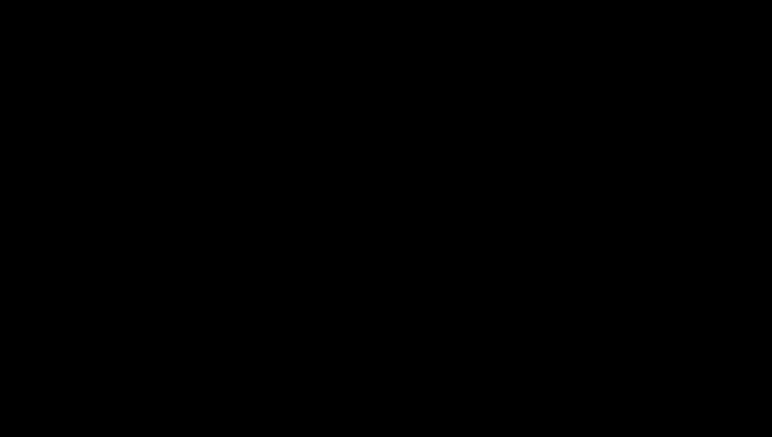 Black outline air conditioner symbol