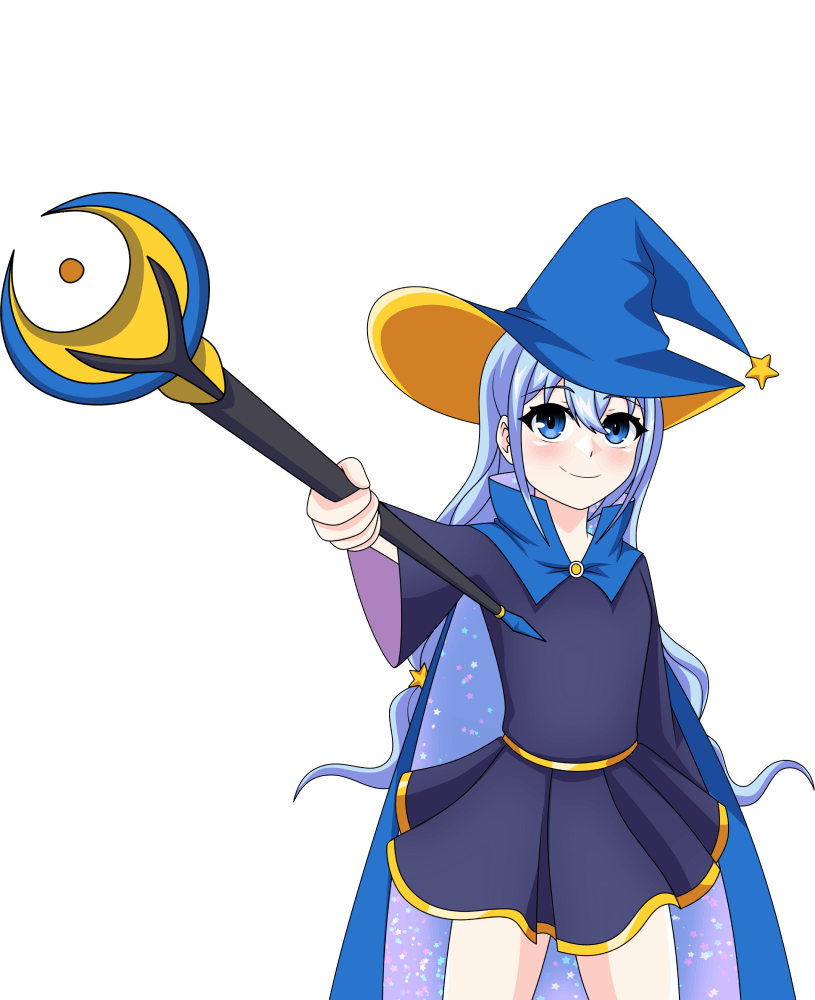 Manga Token mascot character
