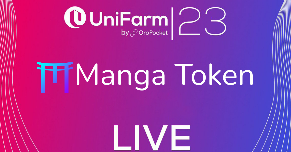 A step by step guide on how to stake your $MANGA on Unifarm!