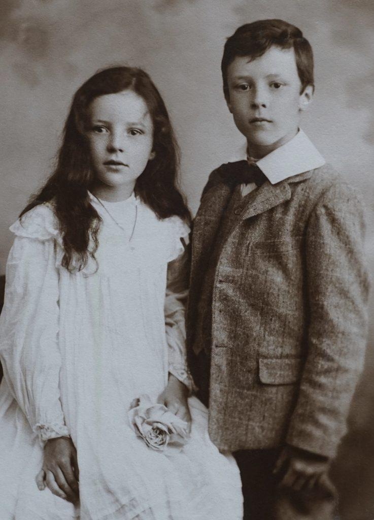 Portrait d'un frère et d'une sœur
