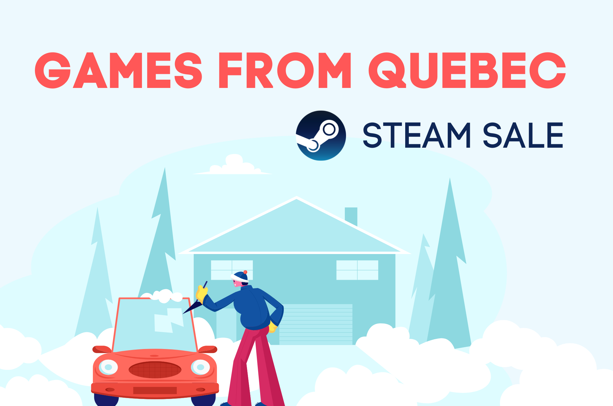 Games from Quebec Steam Sale