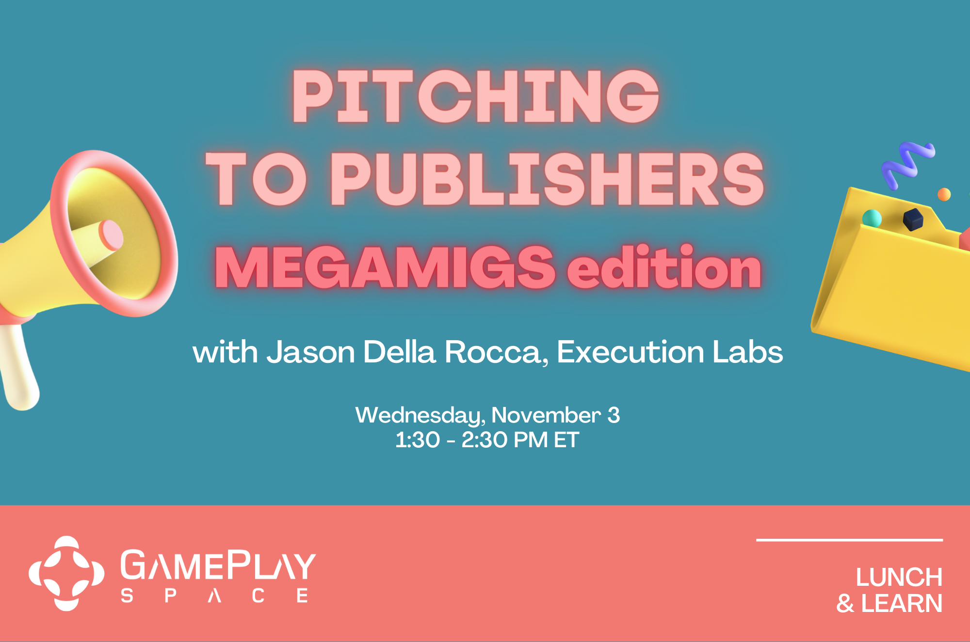 Pitching to Publishers (MEGAMIGS edition)