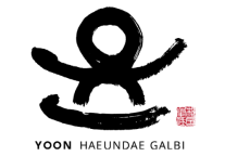YOON HAEUNDEA GALBI logo on btwn