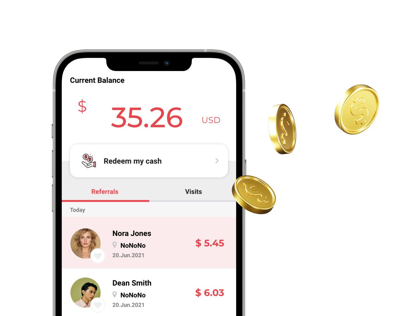 One Purchase, Many Rewards Everyone is an influencer at btwn! Refer friends to a business and earn cashback from their purchases.