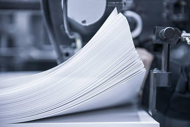 Offset printing press Offset press printer paper stock pictures, royalty-free photos & images