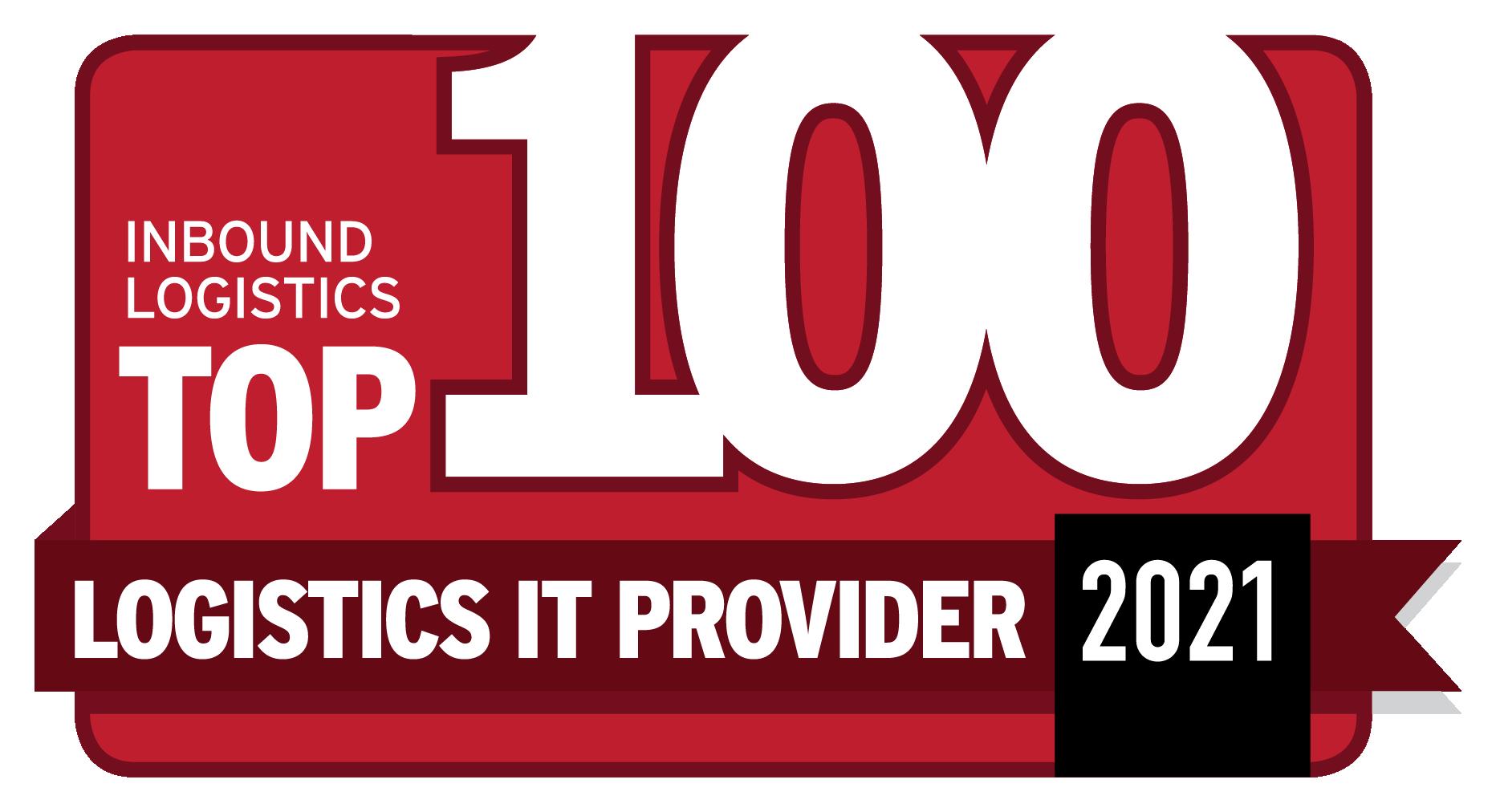 Inbound Logistics Top 100 Logistics IT Providers 2021