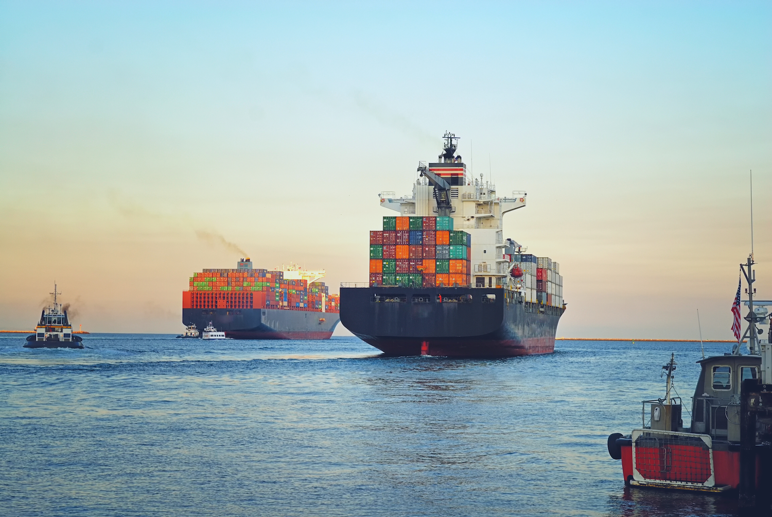 """Prolonged transit times and climbing rates have many beginning to wonder if on-time, in full shipments are a relic of the pre-COVID days. A look at this """"never normal"""" era including pallet shortages and a soon-to-be wider Suez Canal in this week's Friday Five!"""