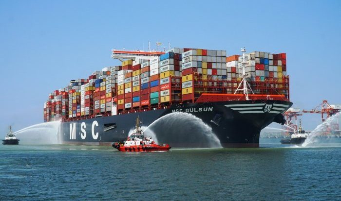 This week's top news in logistics: MSC tipped to overtake Maersk as world's #1, Trans-Pacific carriers dropping contracts in favor of spot rates, Cass Freight Index up 2.4% YOY for October, PIL defaults on payment & GM ups bet on electric vehicles.