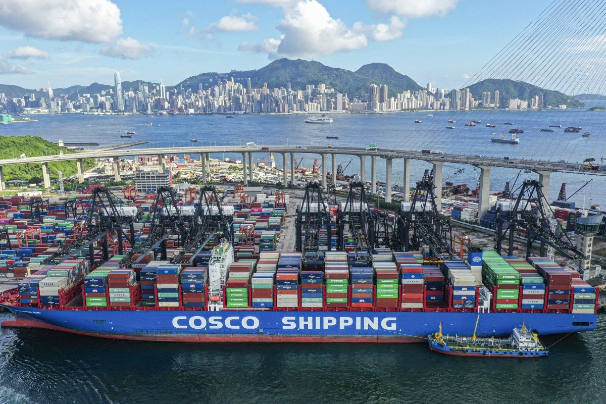 This week's top stories in supply chain and logistics: US-HK Reciprocal Tax Exemption Suspended, Truckers seek 1.8B in ocean container chassis overages, United surpasses 5,000 cargo-only flights, Toys R Us drops Target for Amazon, and Two Hurricanes headed for the US next week, preparations begin.