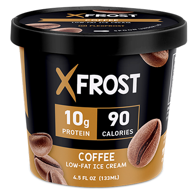 Xfrost Coffee 4.5oz Ice Cream, High Protein Ice Cream
