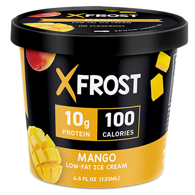 Xfrost Mango 4.5oz Ice Cream, High Protein Ice Cream