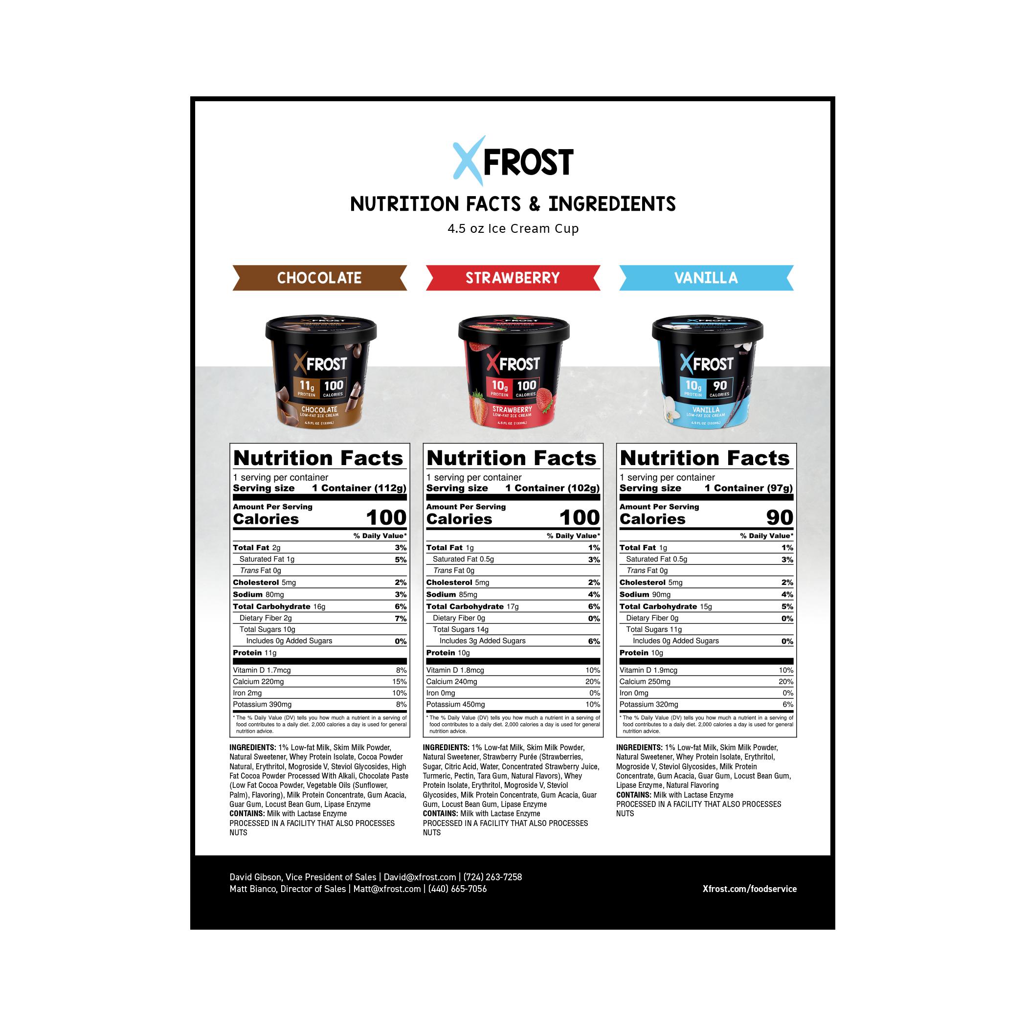 Xfrost Nutrition PDF Thumbnail Image