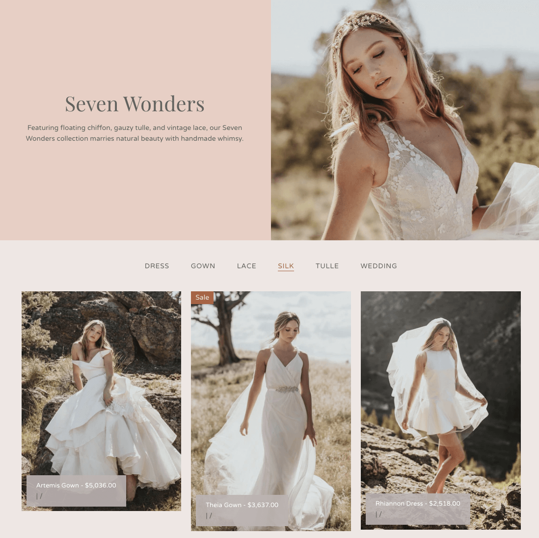 Image of 'Vogue Theme' for Shopify stores.