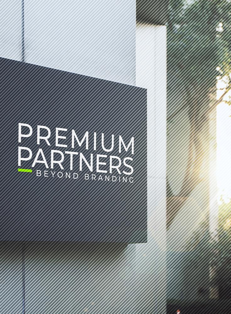 Premium Partners logo on affiche