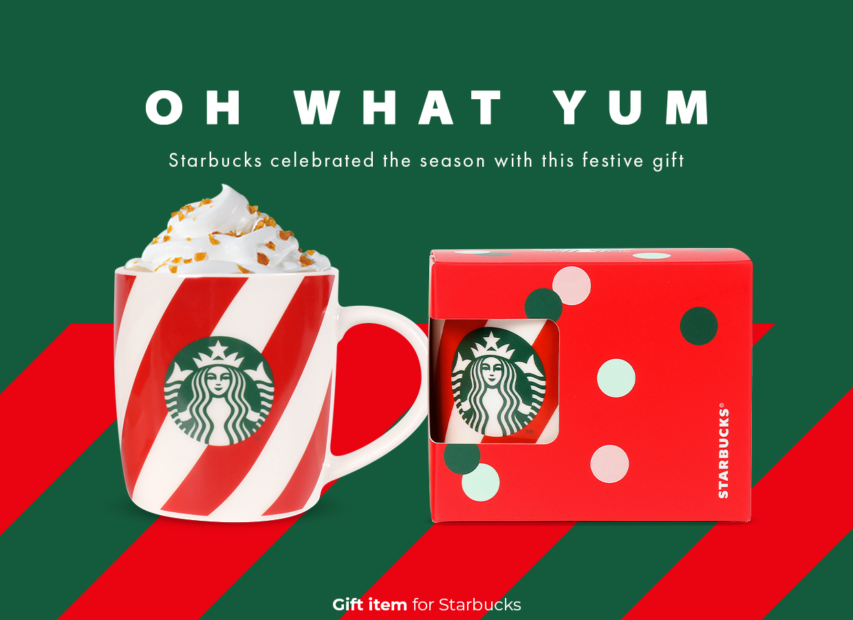 Oh What Yum for Starbucks