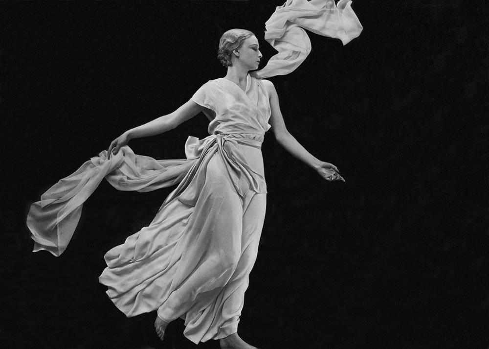 Miss Sonia, evening pyjamas by Vionnet, 1931