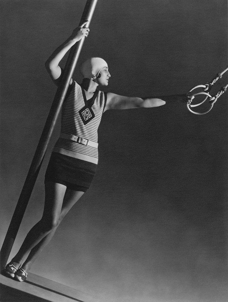 Mlle Alicia, swimwear by Patou, 1928