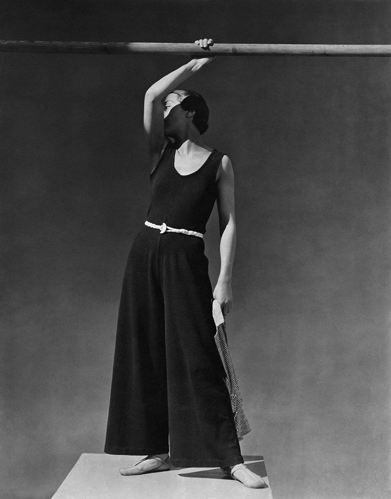 Simone Demaria, beachwear by Schiaparelli, 1930