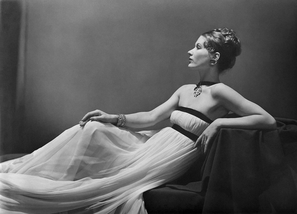 Vionnet dress, Lisa Fonssagrives, 1938