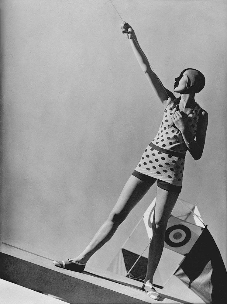 Mlle Katkoff. swimwear by Lanvin, 1928