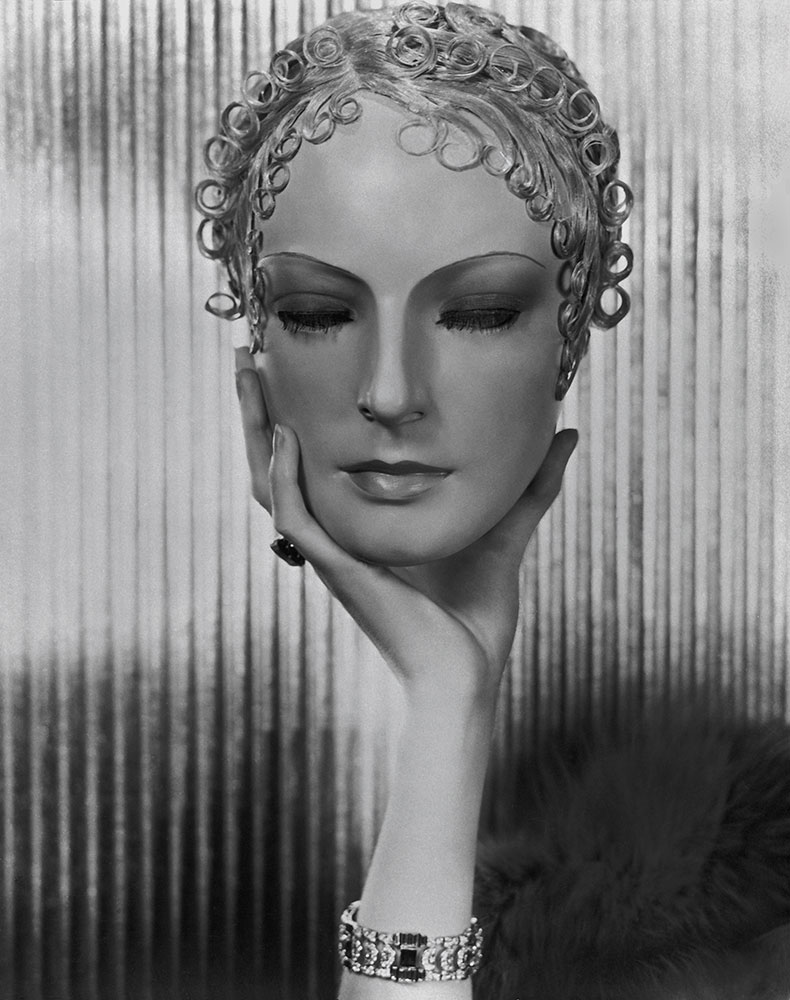 Life Mask of Dolores Wilkinson, 1933