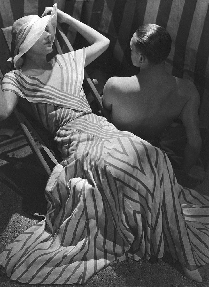 Beachwear by Chanel, 1933