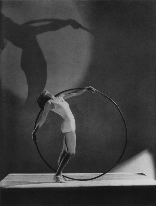 Swimwear with Hoola Hoop, Miss E. Carise, 1930