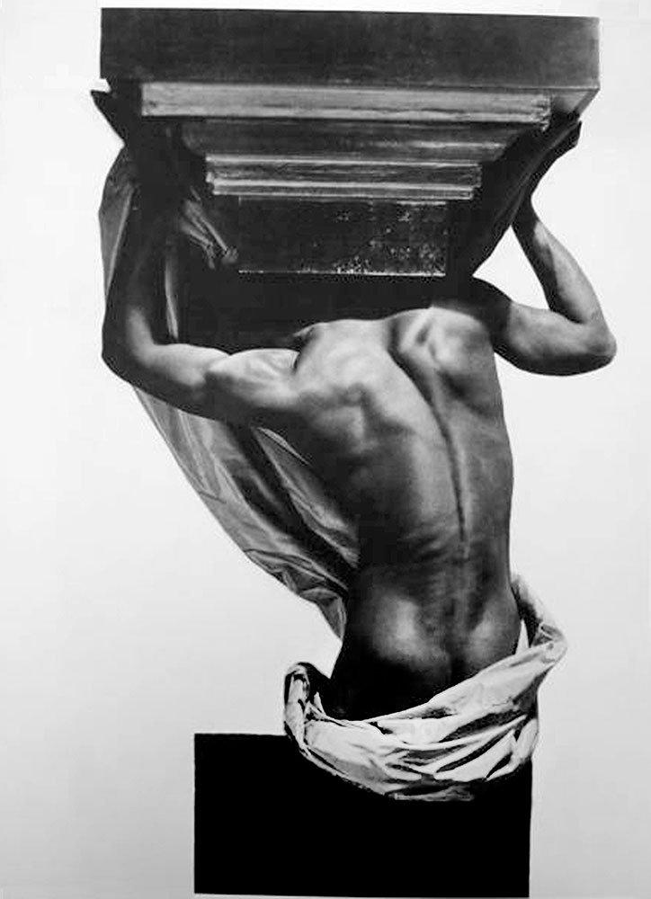Male Nude, Paris, 1934