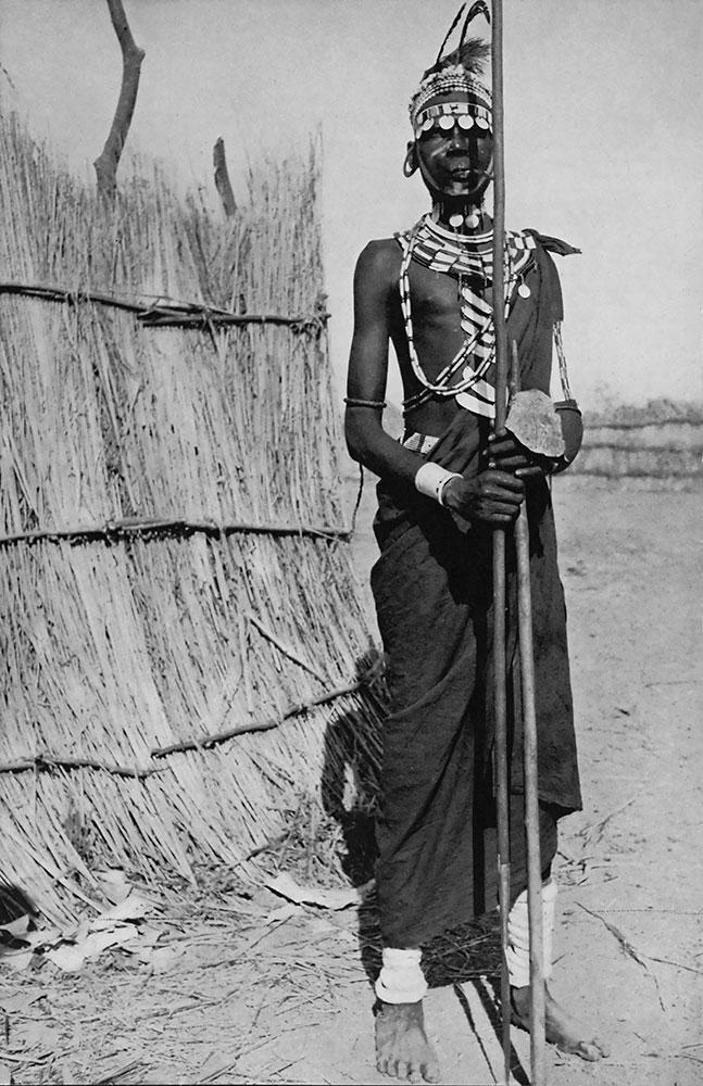 Dinka Warrior