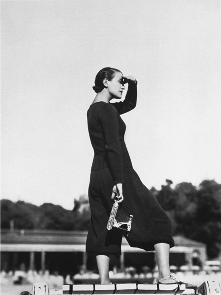 Mme Georges Auric, two-piece by Tao-Tai, 1932