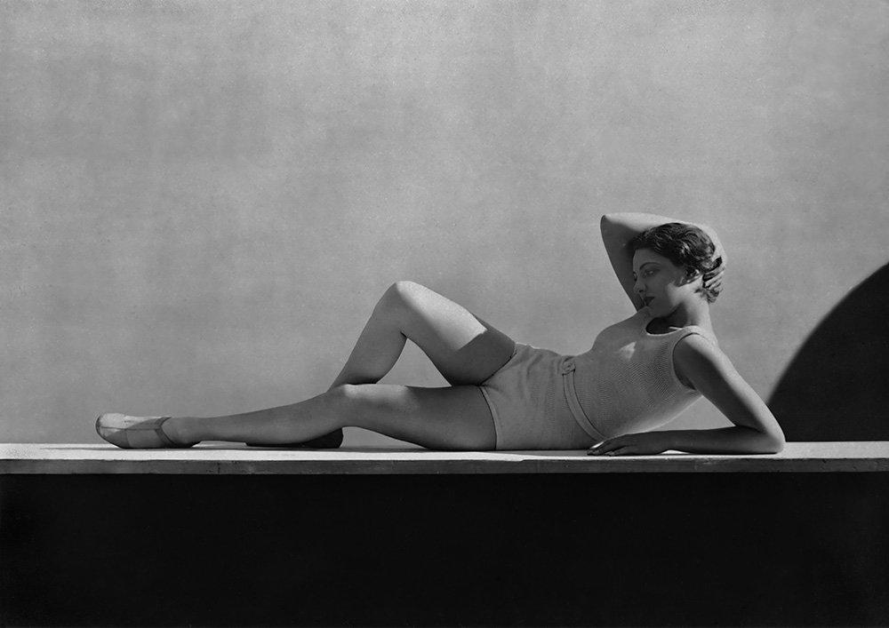 Agneta Fischer, swimwear by Schiaparelli, 1931