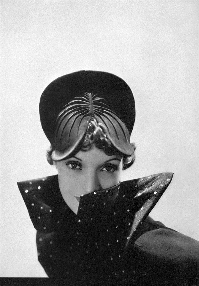 Reboux Lotus Hat, 1935