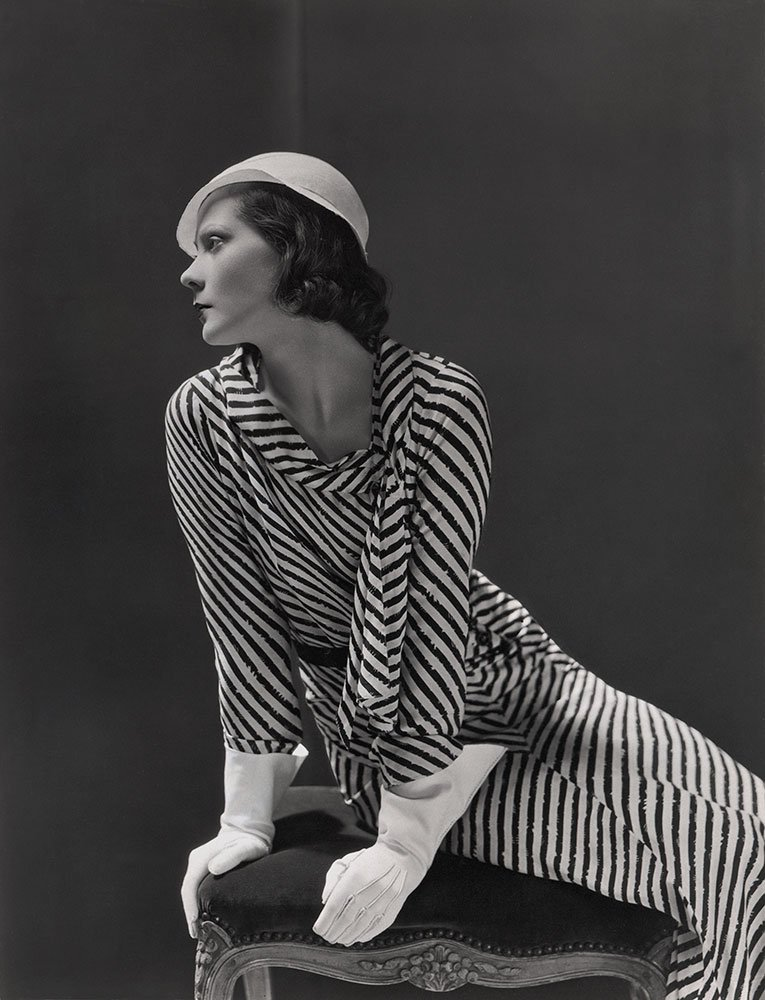 Mme Lucien Lelong, dress by Lelong and hat by Maria Guy, 1931