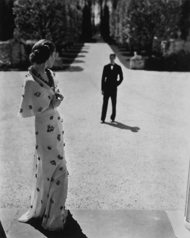 Evening wear by Carnegie, 1935