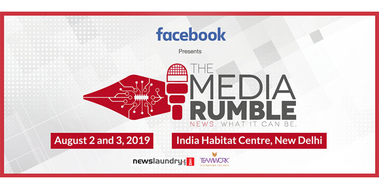 3rd edition of The Media Rumble to discuss gender, caste and community representation in newsrooms