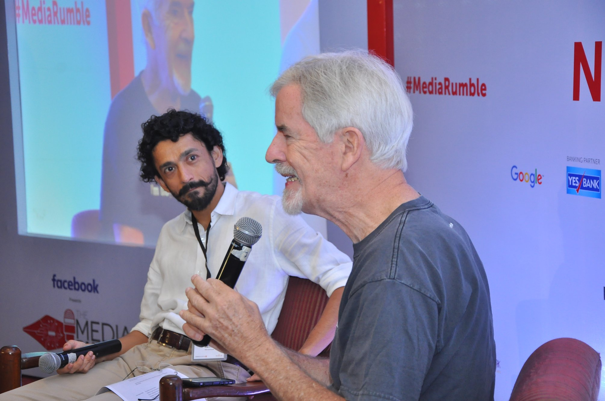 Christopher Lydon spoke to Abhinandan Sekhri