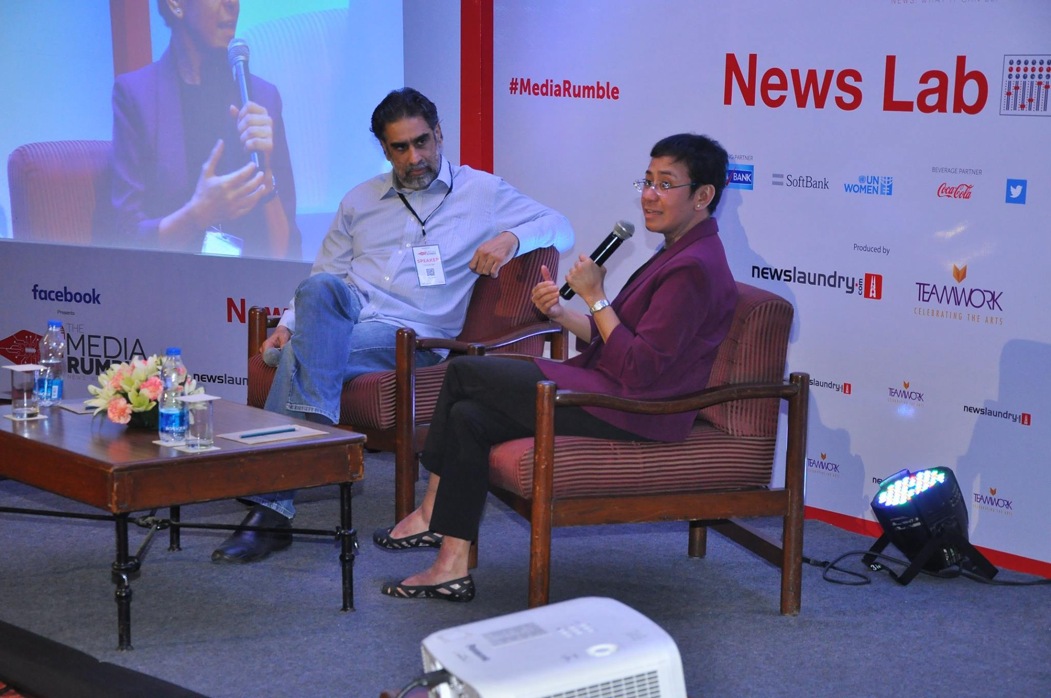 Maria Ressa spoke to Hartosh Singh Bal of The Caravan Magazine