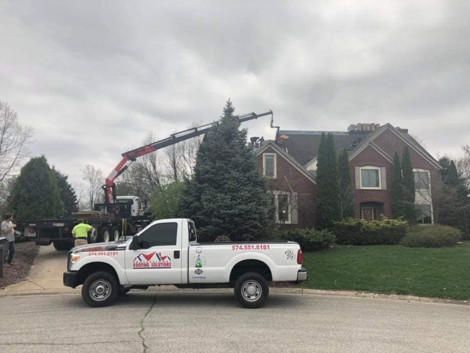 Roofing replacement in warsaw indiana.