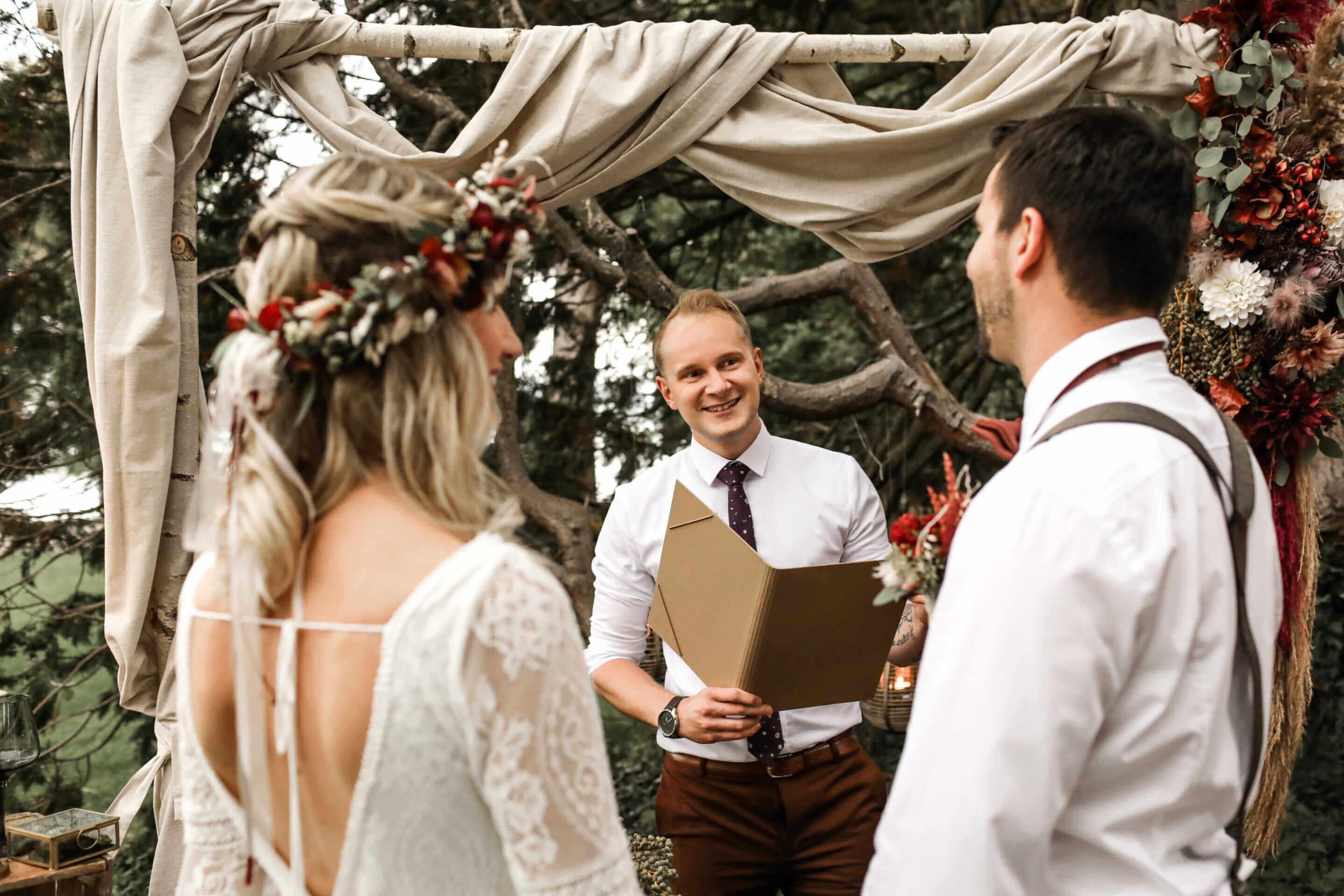 Freier Hochzeitsredner