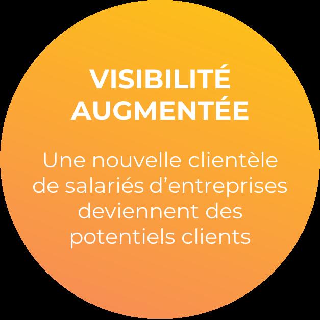 Augmentez votre visibilité avec une nouvelle clientèle de salariés d'entreprises.