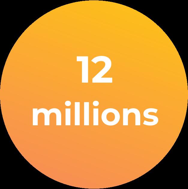 12 millions