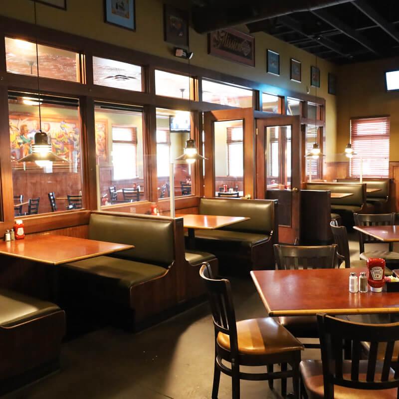Blue Goose Sports Cafe restaurant interior 2