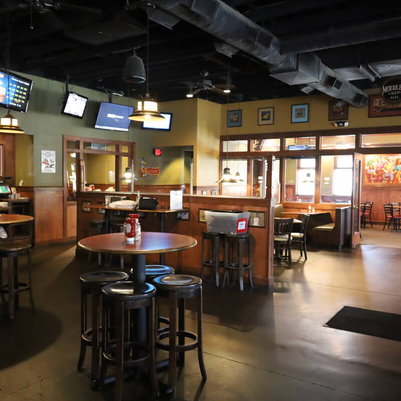 The Blue Goose Sports Cafe Dining